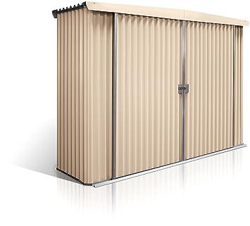 Stratco - Cerradura para cobertizo de Almacenamiento, para jardín, con Estructura de Acero pre