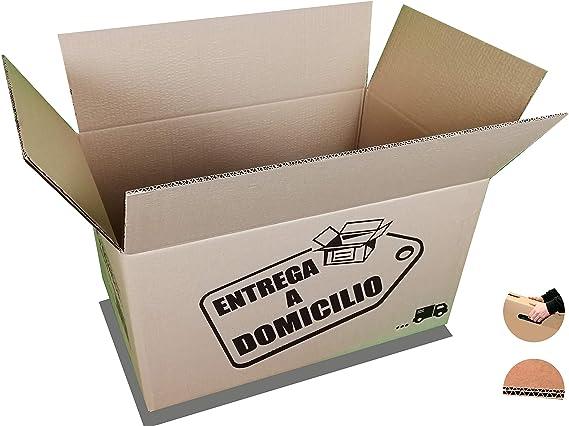 Chely Intermarket, Cajas de cartón GRANDES para mudanzas 60x40x40cm (Pack 10uds) Canal doble más rígido, práctico y consistente | Fabricadas en España | 100% reciclables (53643-60x40x40cm-24,00): Amazon.es: Oficina y papelería