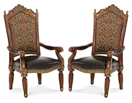 Villa Valencia Arm Chair (Set Of 2)   Aico 72004 55