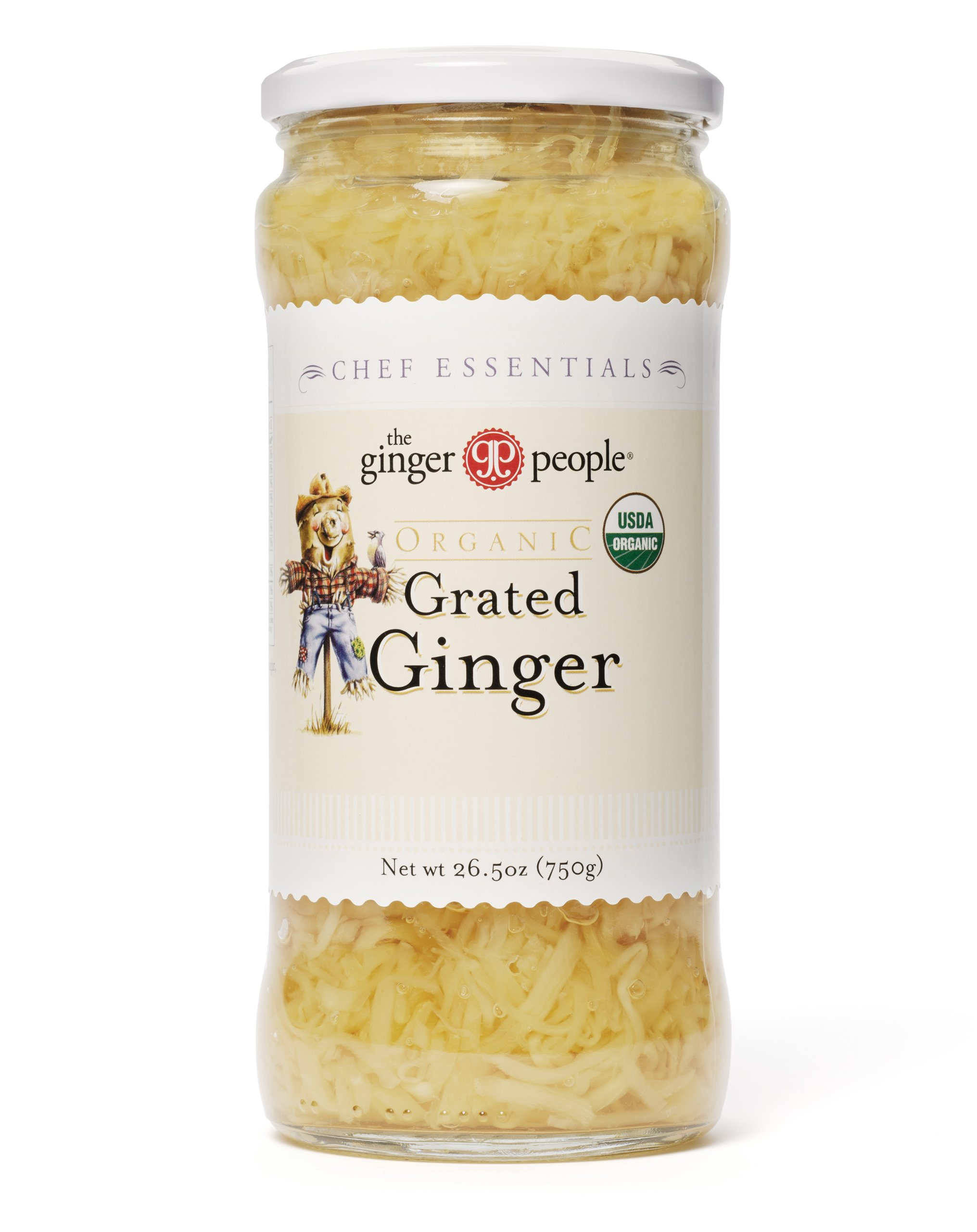 the Ginger People Organic Grated Ginger, 26.5 Ounce (Pack of 6)