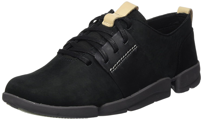 Clarks Tri Caitlin, Zapatillas para Mujer 36 EU|Negro (Black Combi)