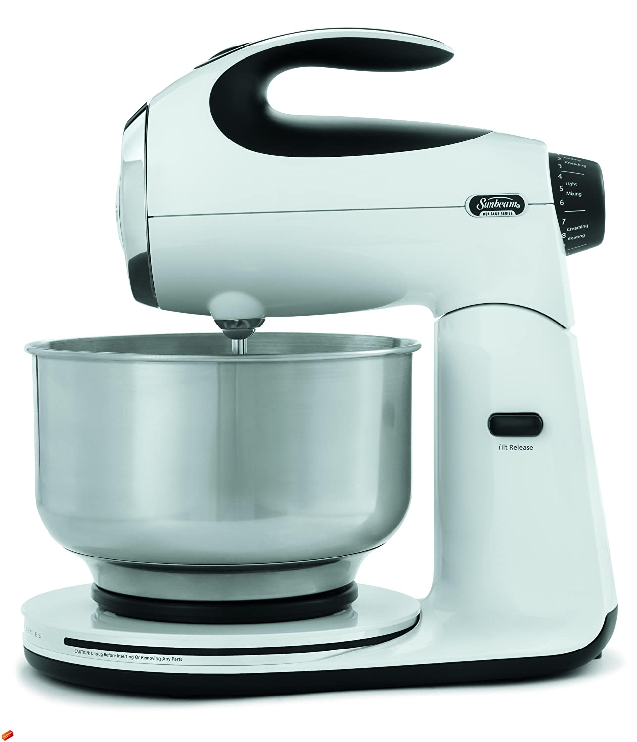 Amazon.com: Sunbeam FPSBSM2101 Heritage Series 350-Watt Stand Mixer ...