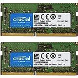 【5年保証】2枚セット Crucial DDR4ノートPC用 メモリ Crucial 8GB DDR4-2666 SODIMM CT8G4SFS8266 [並行輸入品]