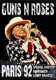 Guns n Roses - Paris 92 (Special Guests Aerosmith & Lenny Kravitz)