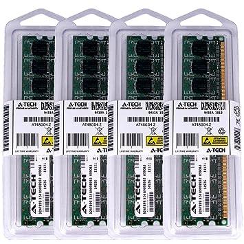 【クリックで詳細表示】16?GBキット( 4?x 4?GB ) for Gigabyteマザーボードga-ep45-extreme ga-ep45-ud3lr ga-ep45-ud3p ga-ep45-ud3r ga-eq45?m-s2。DIMM ddr2?Non - ECC pc2???6400?800?MHz RAMメモリ。A - Techブランド純正。