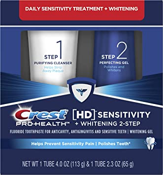 Amazon Com Crest Pro Health Hd Toothpaste Teeth Whitening And