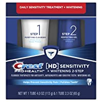 Crest Pro-Health HD Toothpaste, Teeth Whitening and Healthier Mouth via Daily Two-Step...