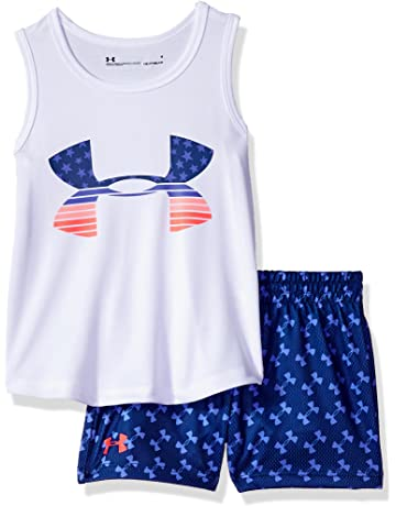 ccd484149 Under Armour Girls' Tank and Short Set