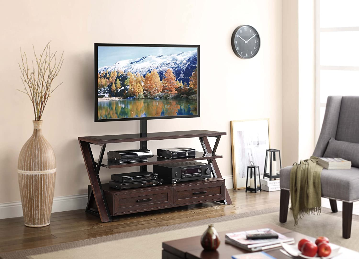 The 5 Best TV Stands In 2018: Reviews & Buying Guide 8