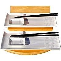 Wave & Star juego de sushi con textura