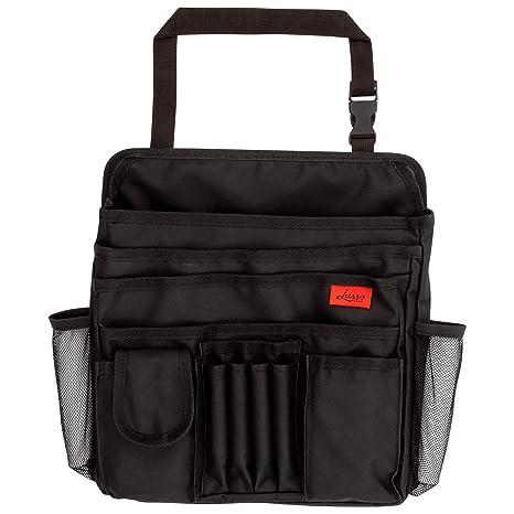 Truck Seat Organizer >> Amazon Com Lusso Gear Car Front Seat Organizer Fits Any Car Truck