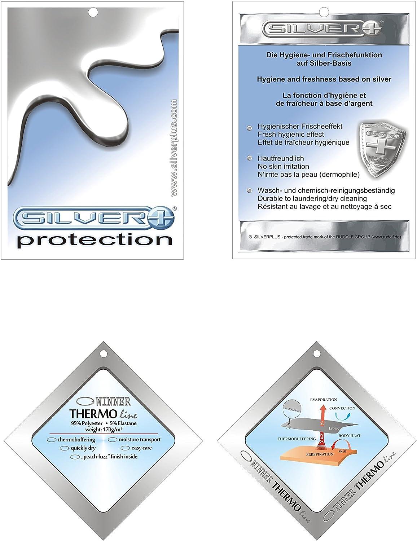 GWinner/®//ski-Mask//-Silverplus/® Braga para el Cuello