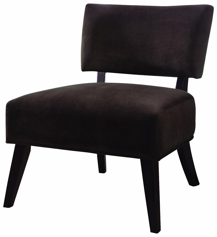 Amazon Coaster Microfiber Accent Chair Zebra Print Kitchen