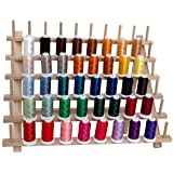 40 Spool Polyester Embroidery Machine Thread Set Vibrant Colors - 500M - for Brother Babylock Janome Singer Pfaff Husqvarna Bernina Machines - 4 Sets Available - Threadart Brand