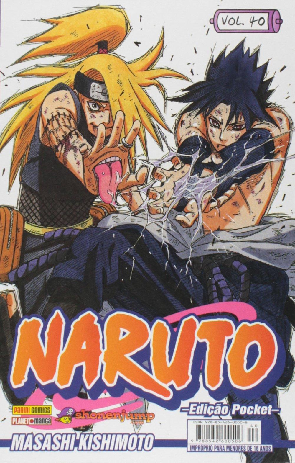 Naruto Pocket - Vol.40: Masashi Kishimoto: 9788542600506 ...