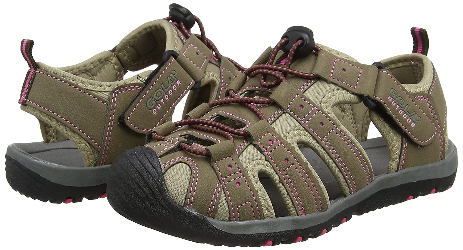 Gola 3 Shingle 3 Gola Taupe Womens Outdoor/Trekking Sandals, Size 6 Size: 6 / UK 4 / EU|Taupe/Hot Pink B01MZADSRF 60bc0a