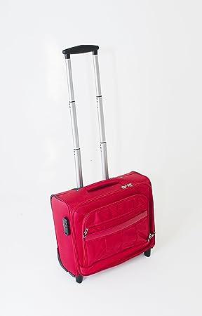Cabina con ruedas para ordenador portátil de maleta maletín piloto maleta trolley bolsa de viaje Travel Rojo Red: Amazon.es: Electrónica