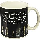 Star Wars Mug, Lightsabers Appear With Heat (12 oz)