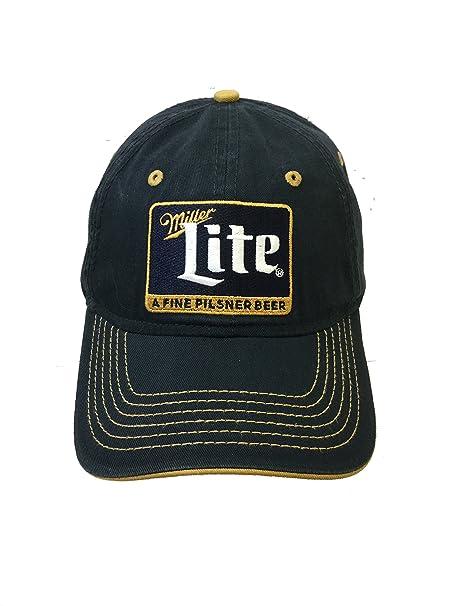 3bc97450d Miller Lite - Pilsner Patch Hat 8 x 7in