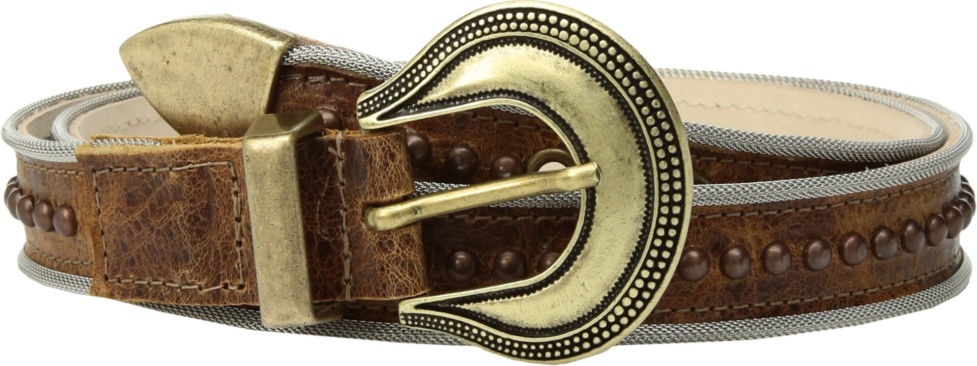 Leatherock Women's Joan Belt Cognac SM (32'' Waist)