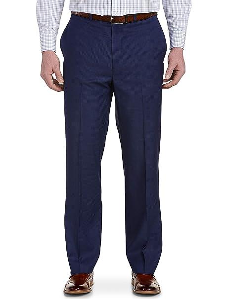 Amazon.com: geoffrey beene Big and Tall Mini Check pantalón ...