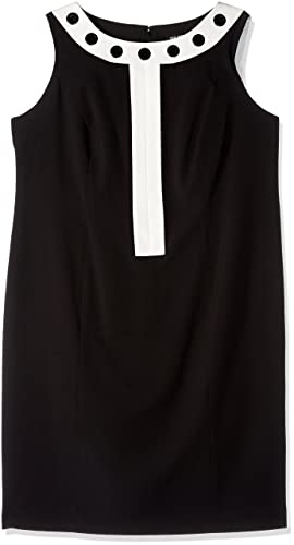 Nine West Women's Plus Size Dress W/Grommets