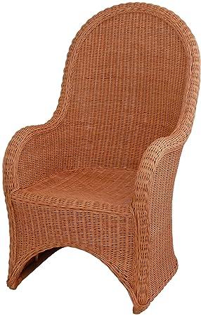 Rattan Sessel Cobra Mit Hoher Rückenlehnekorbsessel Aus Echtem