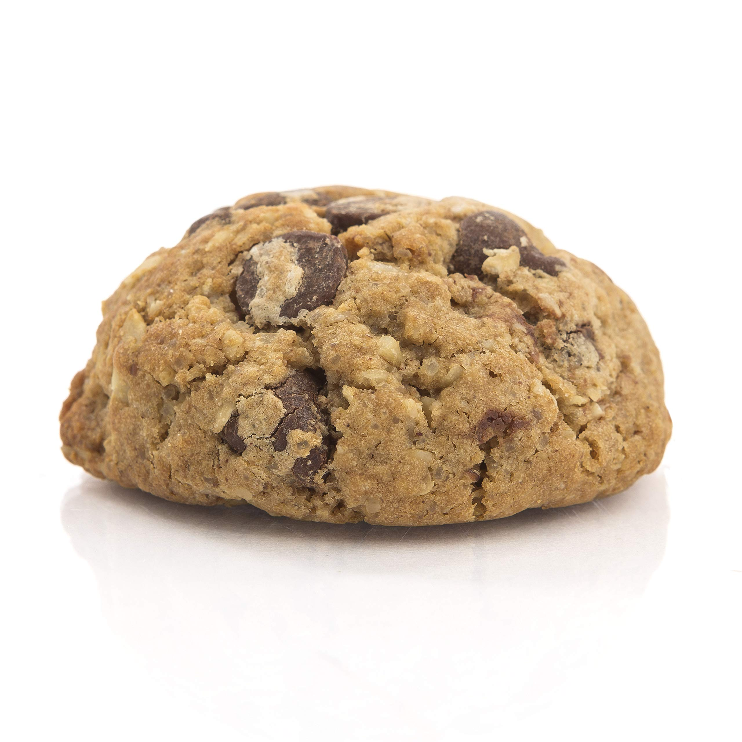 MilkBliss Dark Chocolate Chip Lactation Cookies for Breastfeeding, All Natural and GMO Free Lactation Boosting Ingredients! Oats, Flaxseed, Brewers Yeast. 12 Count.