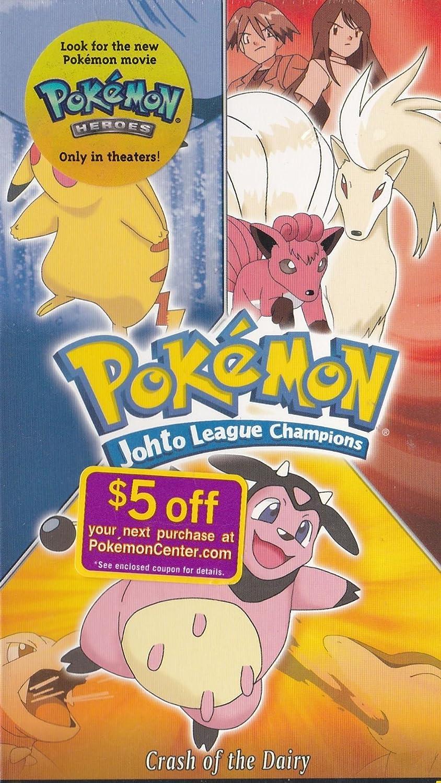 amazon com pokemon johto league champions crash of the dairy