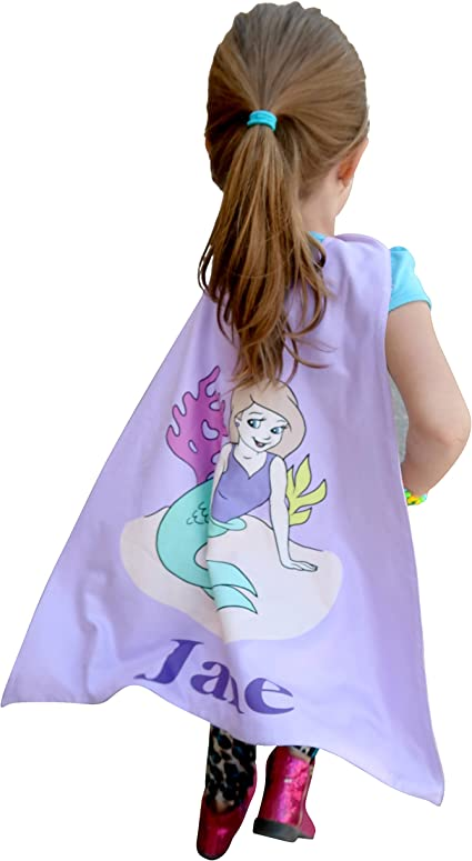 Kids Children Princess Superhero Custom Cape Capes