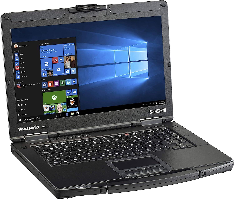 "Panasonic Toughbook CF-54, Intel Core i5-5300U @2.30GHz, 14.0"" HD Touchscreen, 8 GB, 256 GB SSD, WiFi, Bluetooth, Windows 10 Pro (Renewed)"
