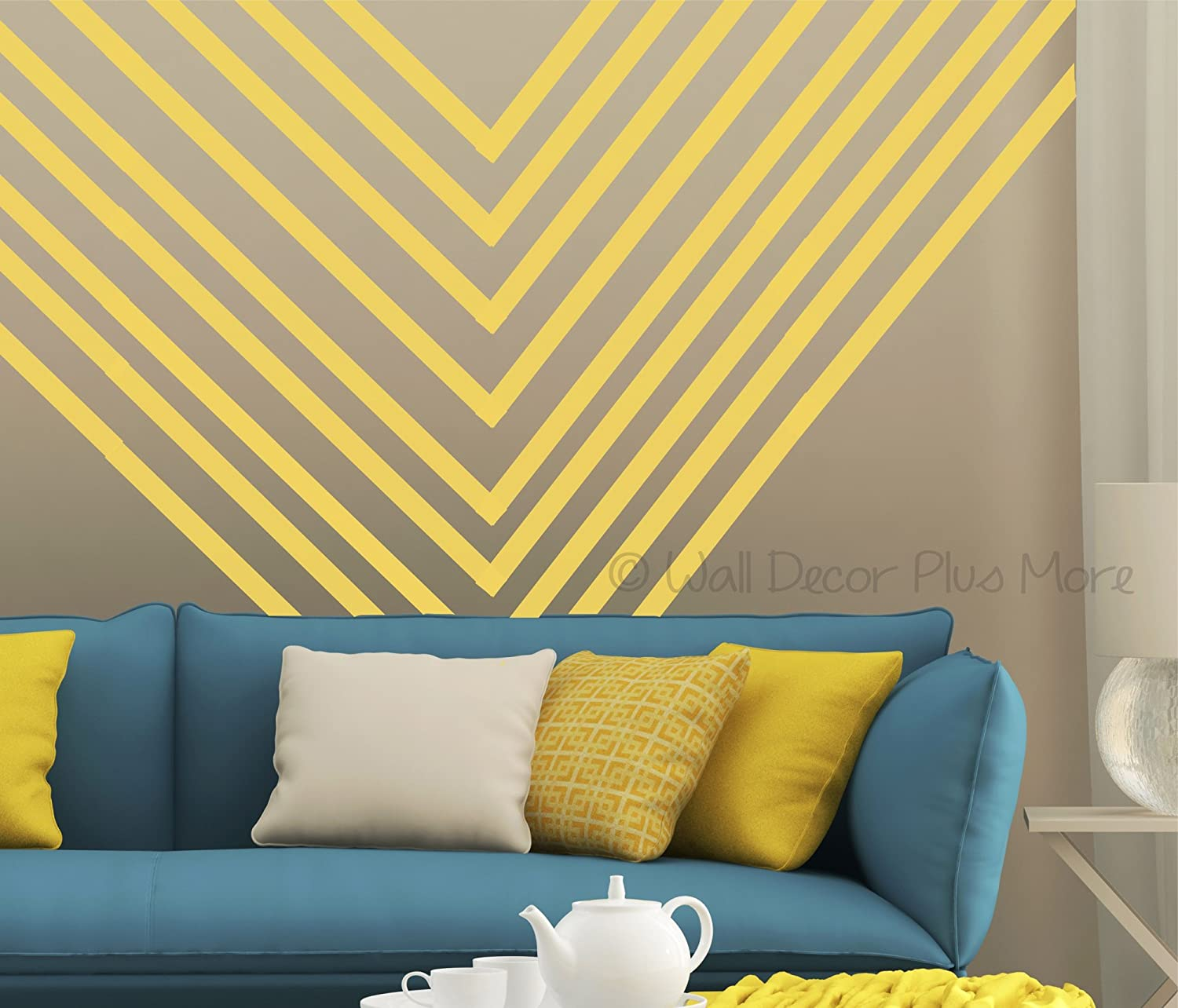 Amazon.com: Wall Decor Sticker Stripe 1\