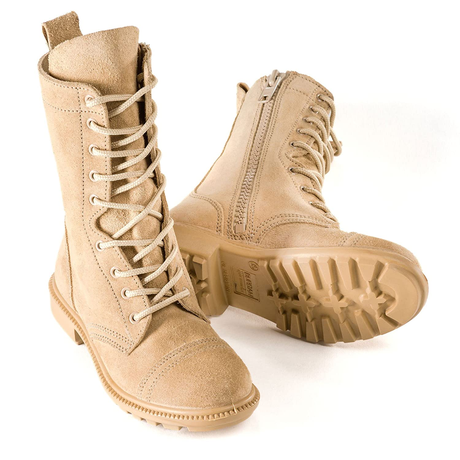 79b32f3aaee BURGAN 832 Desert Combat Boot - All Suede Leather with Side (Unisex ...
