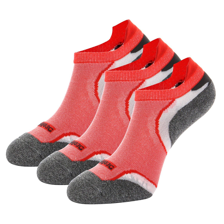 3 paires de Chaussette Sport Running Basse Femme de Socquette Homme Courte Invisible Coton
