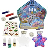 ZUBAT DIY Water Beads, 3 Color Water Beads, 3 Flavor Droppers, 2 Aromatherapy Bottles, DIY Your Own Aromatherapy for…