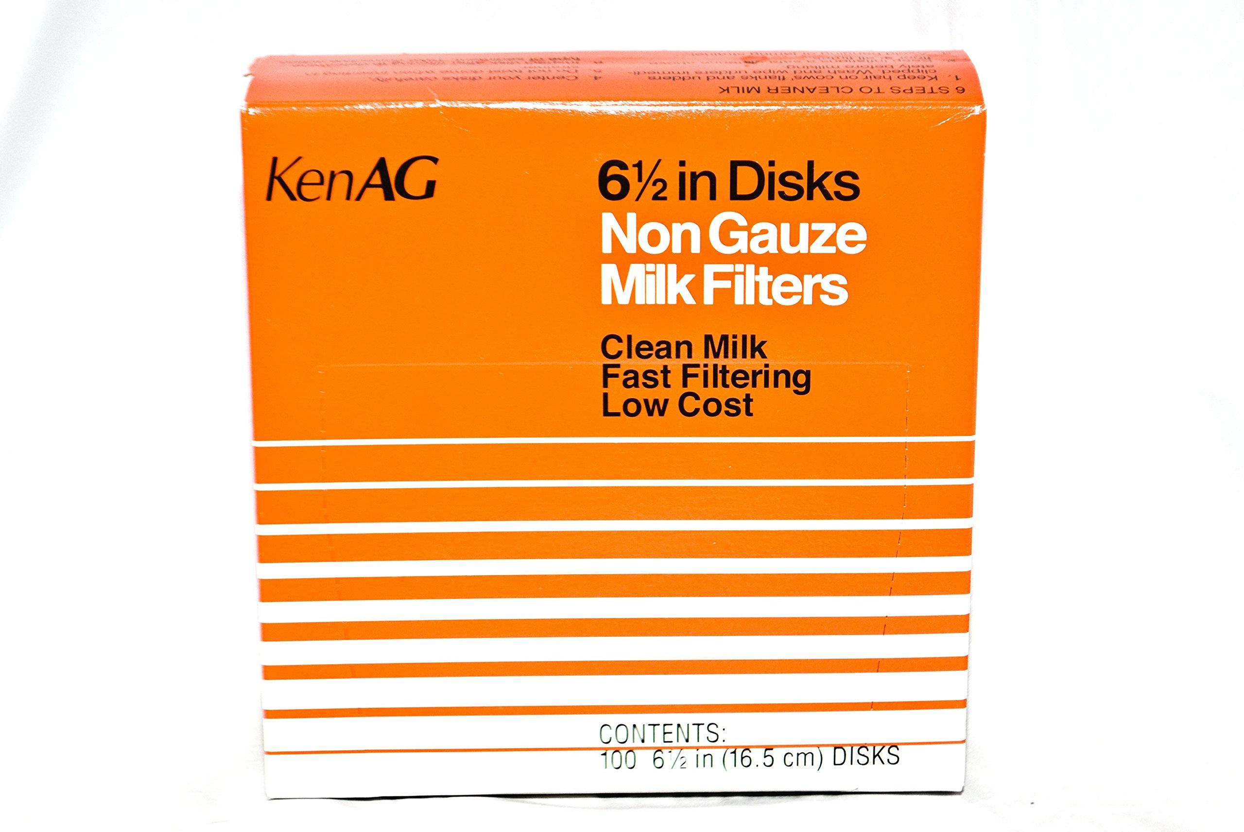 6-1/2'' Milk Filter Disks Non-gauze 100pk, D110 (15)