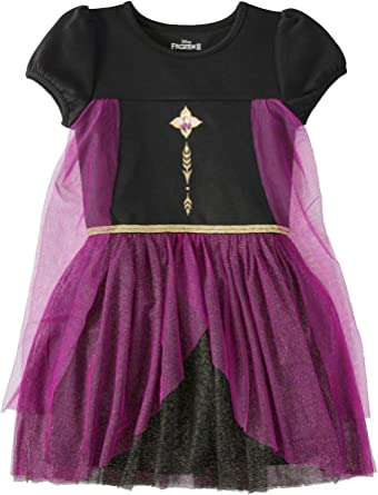 Purple Caped Princess Tutu Dress
