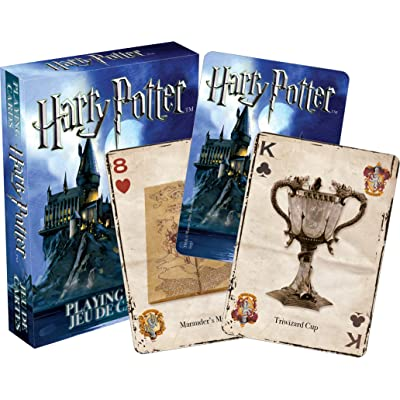 Aquarius Harry Potter Playing Cards: Artist Not Provided: Toys & Games
