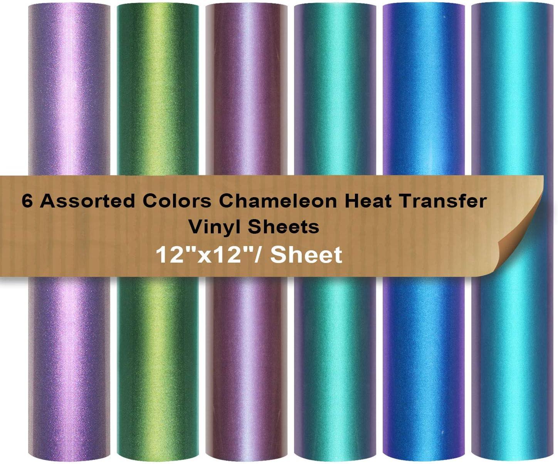 Best Unique Color: Chameleon HTV By Vinyl Frog