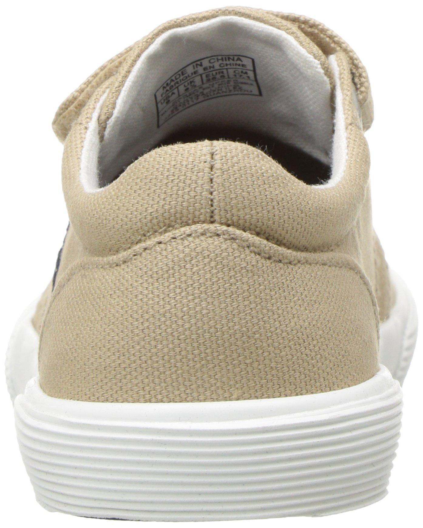 Polo Ralph Lauren Kids Boys' Faxon II Sneaker, Khaki Cotton, 10 M US Toddler by Polo Ralph Lauren (Image #2)