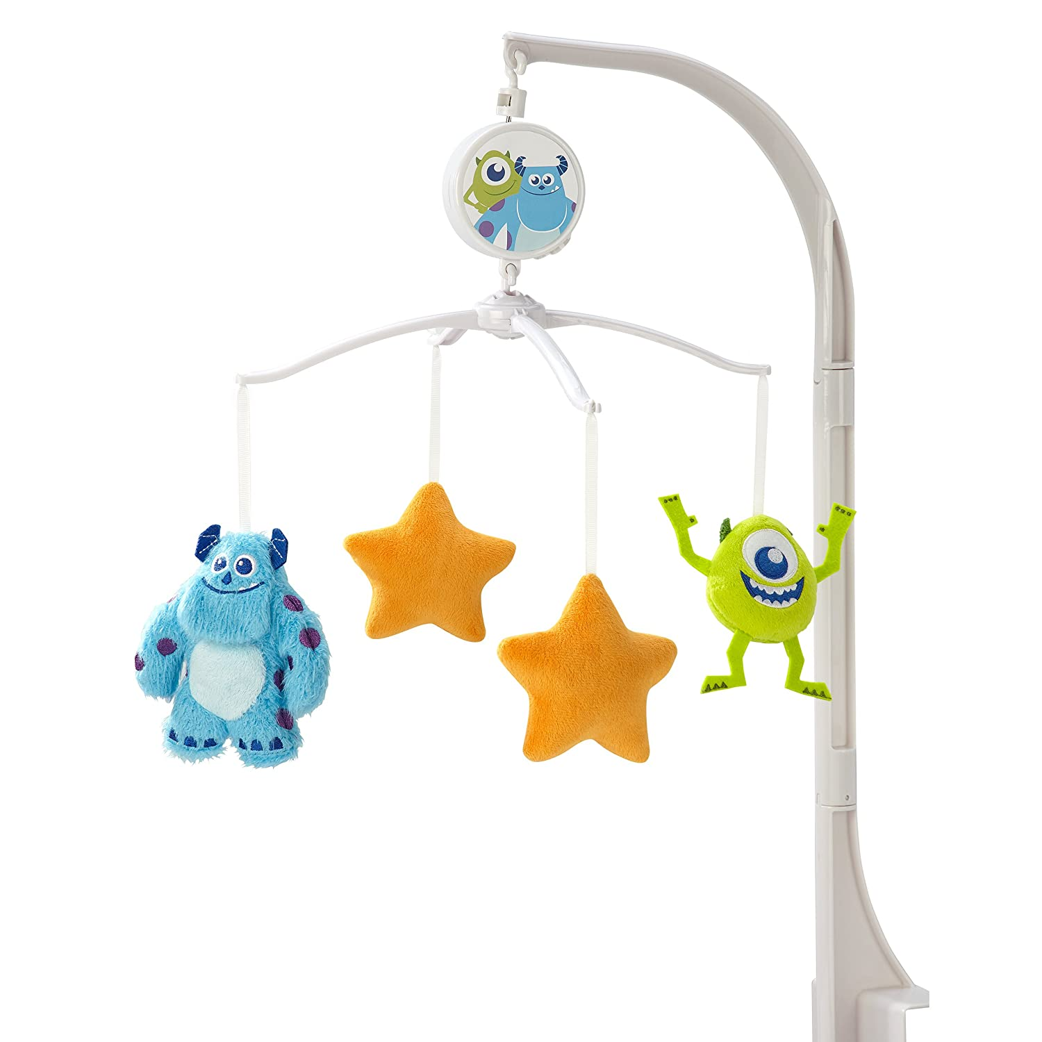 Disney Monsters Musical Mobile, Blue/Orange/Green