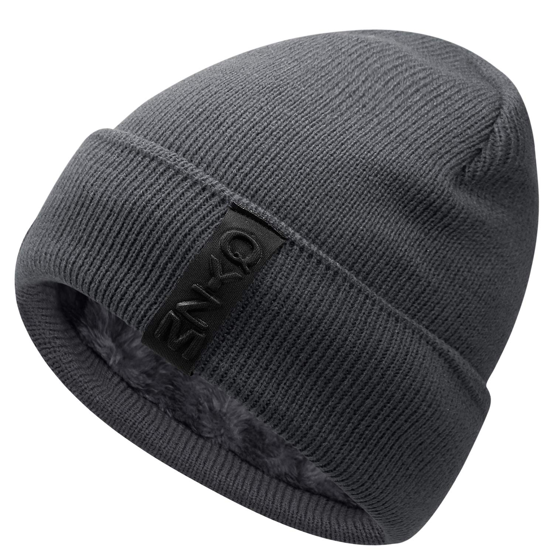 Thick Warm /& Stylish Winter Hats Black MACA Spain Unisex Slouch Beanie Hats