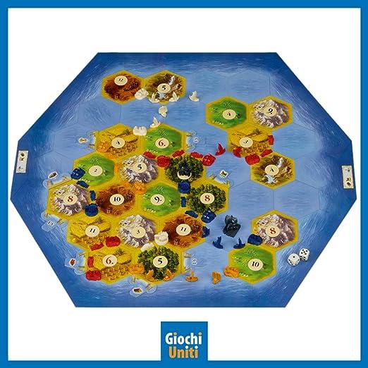 Giochi Uniti Coloni Catan i Marinai, GU574: Amazon.es: Juguetes y juegos