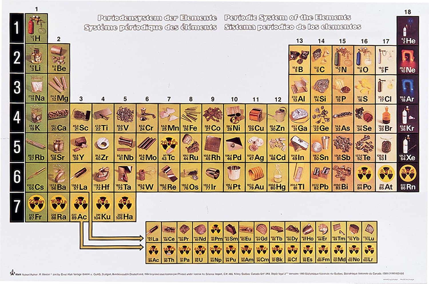 Chemical elements illustrated periodic table chart amazon chemical elements illustrated periodic table chart amazon industrial scientific gamestrikefo Images
