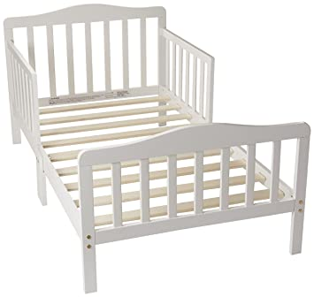 amazon com orbelle 3 6t toddler bed white baby rh amazon com wood toddler bed walmart wood toddler bed house