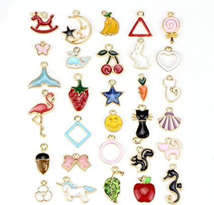 100pc Acrylic Charms Pendants Wholesale Lots Mixed Craft Supplies
