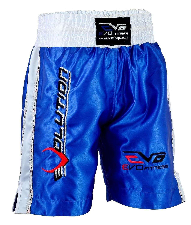 EVO Kick Boxing Muay Thai Cage Fight Shorts MMA Grappling Martial Arts Gear UFC