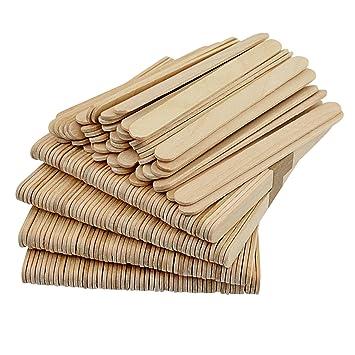 Amazon Com Popsicle Sticks Pistha 300 Pcs Wooden Craft Sticks 4 5