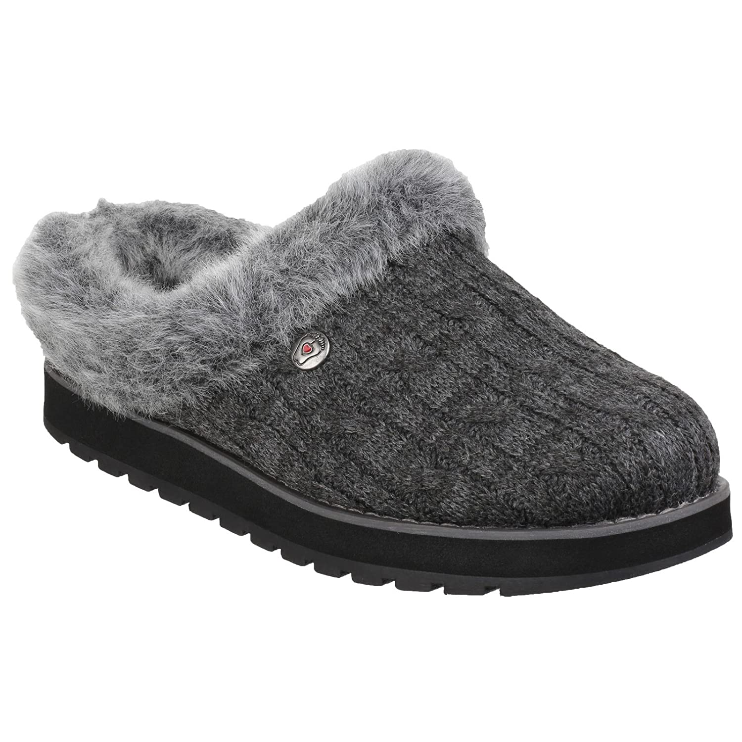 Amazon.com: Skechers Womens/Ladies Keepsakes Ice Angel Slip On Mule Slippers (6 US, Chocolate): Clothing