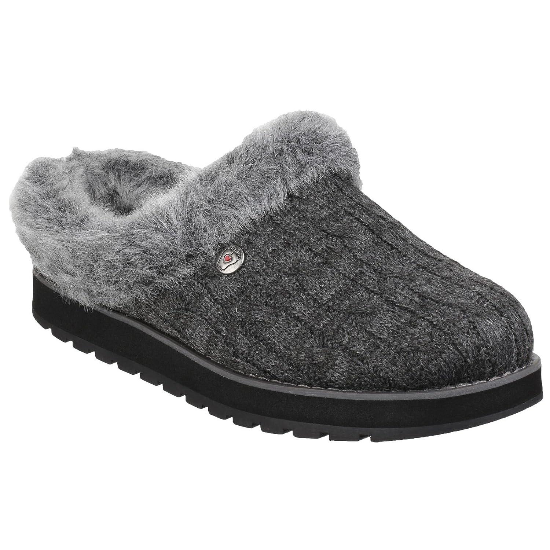 Amazon.com: Skechers Womens/Ladies Keepsakes Ice Angel Slip On Mule Slippers (6 US, Chocolate): Clothing
